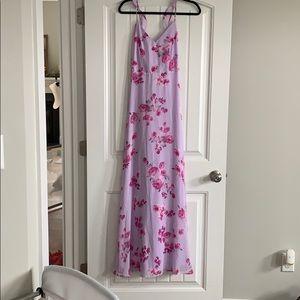 Lulu's Lilac Floral Maxi